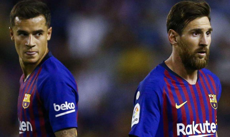 """Messi là nguyên nhân khiến Coutinho """"lụn bại"""" tại Barcelona"""